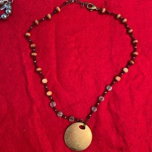 NWOT. Necklace. Hand made.